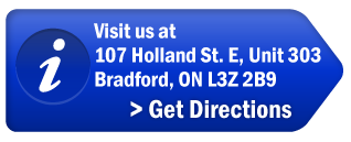 Visit us at 107 Holland St. E Unit 303, Bradford, ON L3Z 2B9 | Get Directions